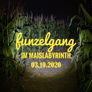 Funzelgang im Maislabyrinth am 03.10.2020 <br>19:30 bis 22:30 Uhr