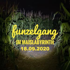 Funzelgang im Maislabyrinth am 18.09.2020 <br>19:30 bis 22:30 Uhr