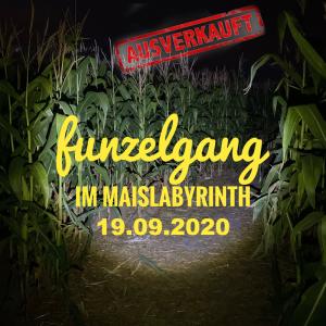 Funzelgang im Maislabyrinth am 19.09.2020 <br>19:30 bis 22:30 Uhr