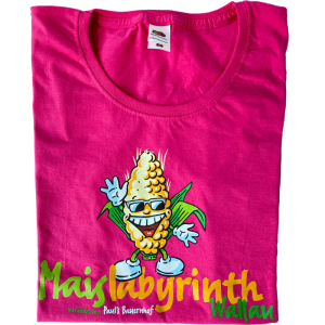 Maislabyrinth Fan T-Shirt (Lady-Fit) in pink